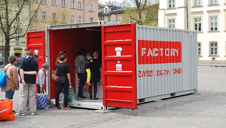 Eskadra - Stylish recycling - Factory