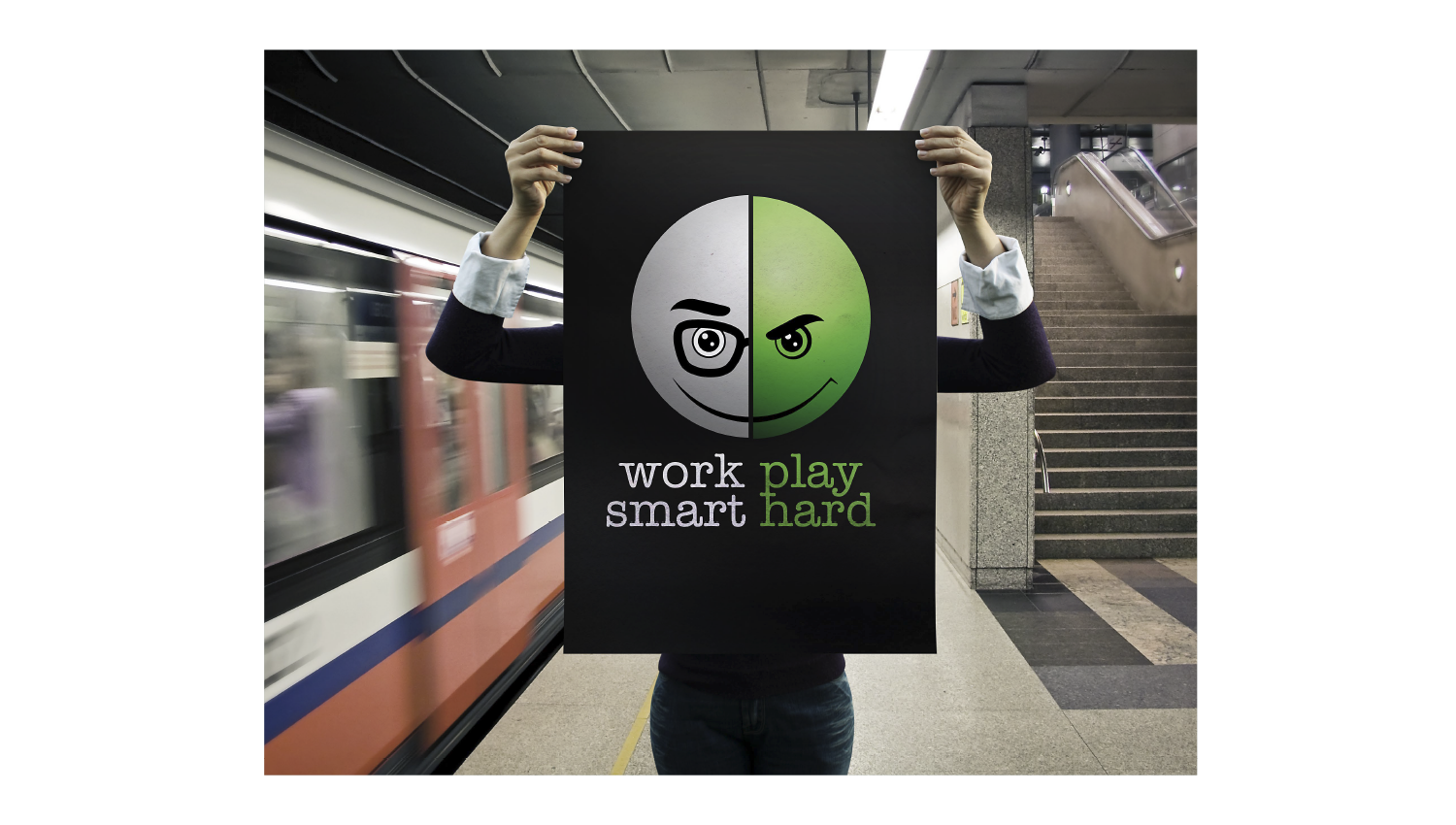 Eskadra - Work smart, play hard - Sony