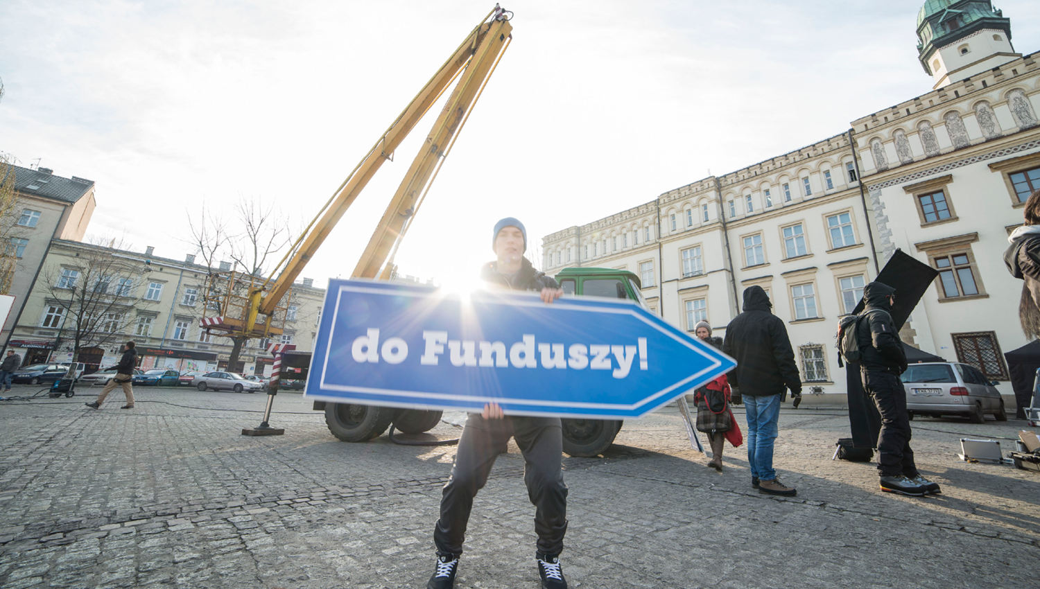 Eskadra - Straight to the funds! - Ministry of infrastructure and development