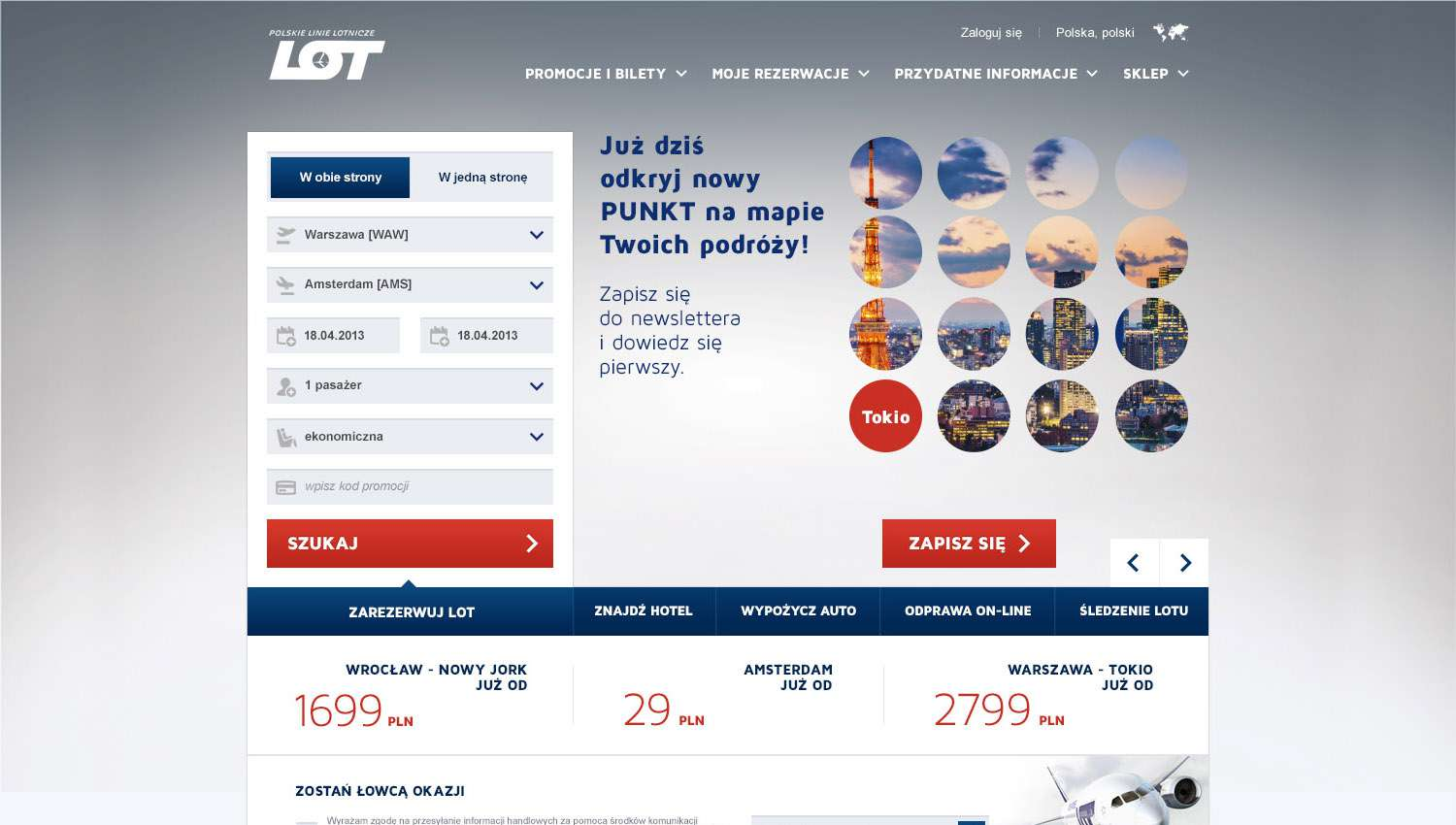 Eskadra - LOT gets to the point! - LOT Polish Airlines