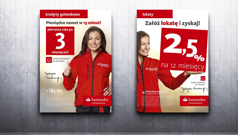 Eskadra - Znajdź swój powód do uśmiechu - Santander Consumer Bank