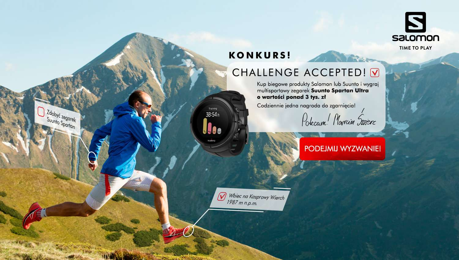 Eskadra - Challenge Accepted - Amer Sports