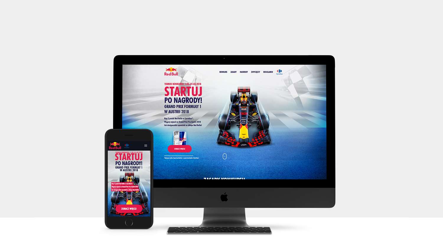 Eskadra - Enter the race with Red Bull, win a trip to the Grand Prix F1 in Austria - RED BULL SP Z O O