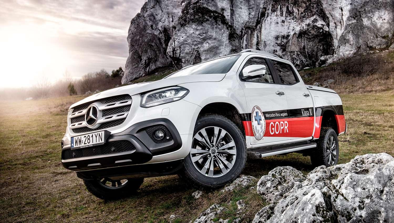 Eskadra - Jazdy testowe Klasą X - Mercedes-Benz